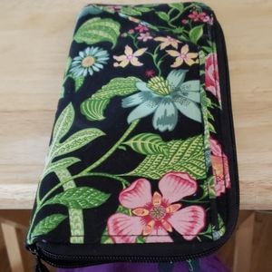 Large beautiful Vera Bradley wallet